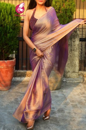 Multicoloured Satin Georgette Fancy Saree